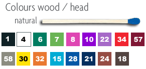 Wood and head colors