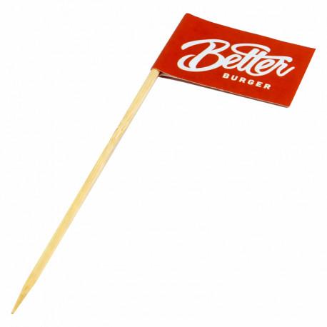 Palillo con bandera 150